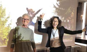 Mia Frick och Cecilia Linhart föreläser om hållbarhet