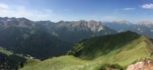 Vy över berg