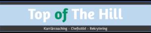 Logo header för Top of The Hill
